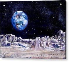 The Moon Rocks Acrylic Print by Jack Skinner
