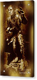The Mummy Document Acrylic Print by John Malone