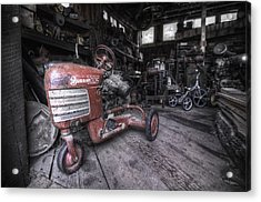 The Murray Trac Acrylic Print by Sean Foster