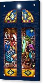 The Nativity Acrylic Print by Jean Hildebrant
