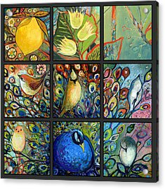 The Neverending Story Set Of 9c Acrylic Print by Jennifer Lommers