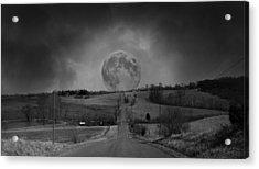 The Night Begins Acrylic Print by Betsy Knapp
