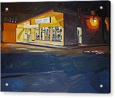 The Night Wash Acrylic Print by Deb Putnam