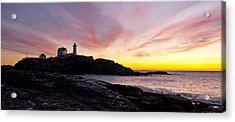 The Nubble Acrylic Print by Steven Ralser