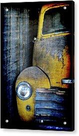 The Ol Chevy Acrylic Print by Ernie Echols