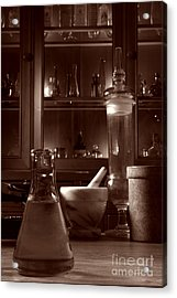 The Old Apothecary Shop Acrylic Print by Olivier Le Queinec