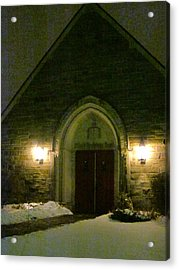 The Old Church Acrylic Print by Guy Ricketts