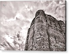 The Old Dungeon Acrylic Print by Olivier Le Queinec