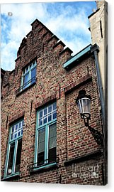 The Old House Acrylic Print by John Rizzuto