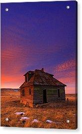 The Old House Acrylic Print by Kadek Susanto