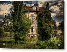 The Old Manor Acrylic Print by Marco Oliveira