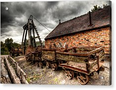 The Old Mine Acrylic Print by Adrian Evans