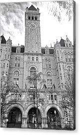 The Old Post Office  Acrylic Print by Olivier Le Queinec