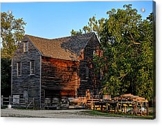 The Old Sawmill Acrylic Print by Olivier Le Queinec