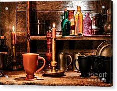 The Old Tavern Acrylic Print by Olivier Le Queinec
