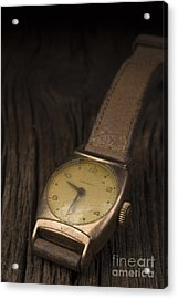 The Old Wrist Watch Acrylic Print by Edward Fielding
