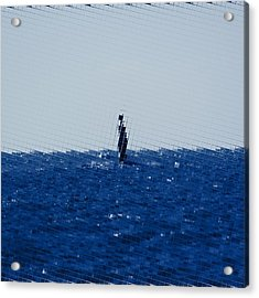 The Open Sea Acrylic Print by Toppart Sweden