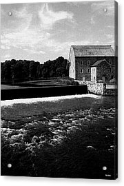 The Other Mill Acrylic Print by Val Arie