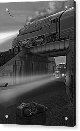 The Overpass Acrylic Print by Mike McGlothlen
