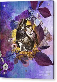 The Owlsleys Acrylic Print by Aimee Stewart