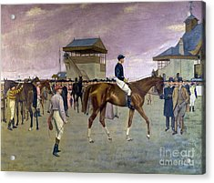 The Owner S Enclosure Newmarket Acrylic Print by Isaac Cullen