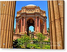 The Palace Of Fine Arts In The Marina District Of San Francisco Acrylic Print by Jim Fitzpatrick