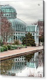 The Palm House Acrylic Print by JC Findley