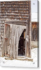 The Passage Of Time Acrylic Print by Edward Fielding