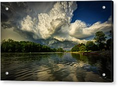 The Passing Storm Acrylic Print by Everet Regal