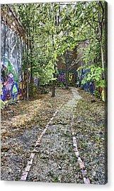 The Path Of Graffiti Acrylic Print by Jason Politte