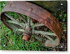 The Patina Of Time Acrylic Print by Rene Triay Photography