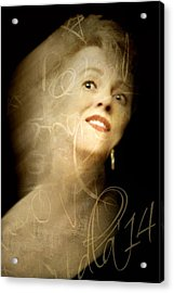 The Photographer Acrylic Print by Diana Angstadt