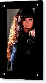 The Photographer Acrylic Print by Karen M Scovill