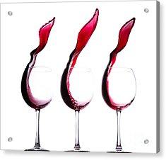 The Physics Of Wine Acrylic Print by Jordan Danko