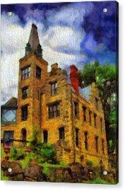 The Piatt Castle Acrylic Print by Dan Sproul