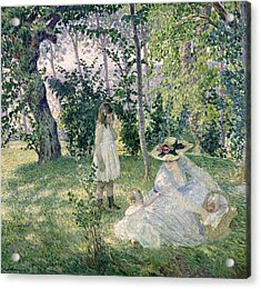 The Picnic Acrylic Print by Henri Lebasque