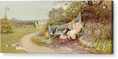 The Picture Book Acrylic Print by Thomas James Lloyd