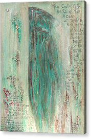 The Pistis Sophia Veiled Acrylic Print by Talvi Winter