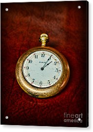 The Pocket Watch Acrylic Print by Paul Ward