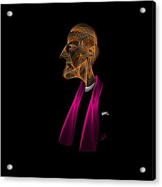 The Pope Acrylic Print by Hayrettin Karaerkek