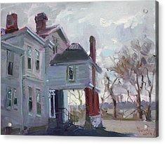 The Porter Mansion Acrylic Print by Ylli Haruni