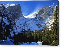 The Power And The Glory Acrylic Print by Eric Glaser