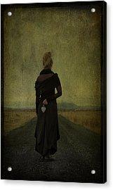 The Power Of Goodbye Acrylic Print by Evelina Kremsdorf