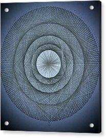 The Power Of Pi Acrylic Print by Jason Padgett