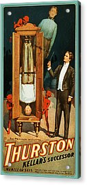The Prisoner Of Canton Acrylic Print by The  Vault - Jennifer Rondinelli Reilly