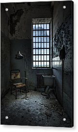 The Private Room - Abandoned Asylum Acrylic Print by Gary Heller