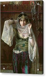 The Queen Of The Harem Acrylic Print by Max Ferdinand Bredt
