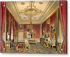 The Queens Private Sitting Room Acrylic Print by James Baker Pyne