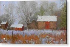 The Quiet Farm Bucks County Acrylic Print by Kit Dalton