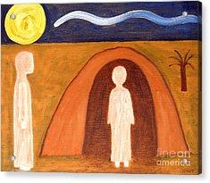 The Raising Of Lazarus Acrylic Print by Patrick J Murphy